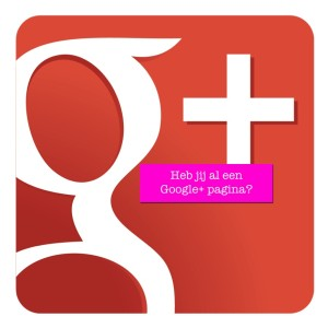 waarom google plus pagina