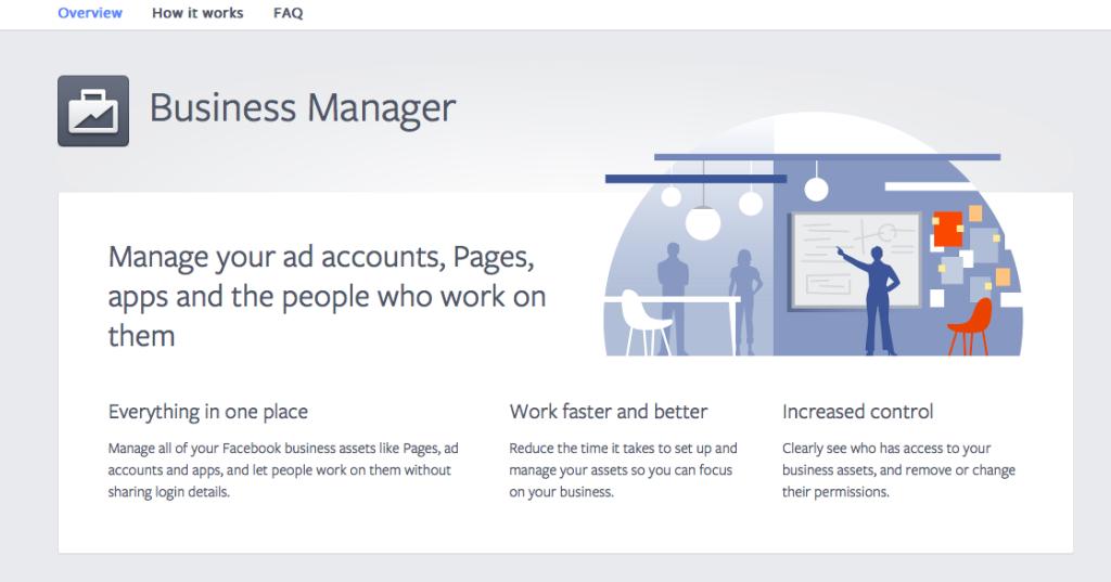 Facebook Business Manager waarschuwing