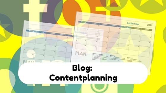 Contentplanning maakt het eenvoudiger