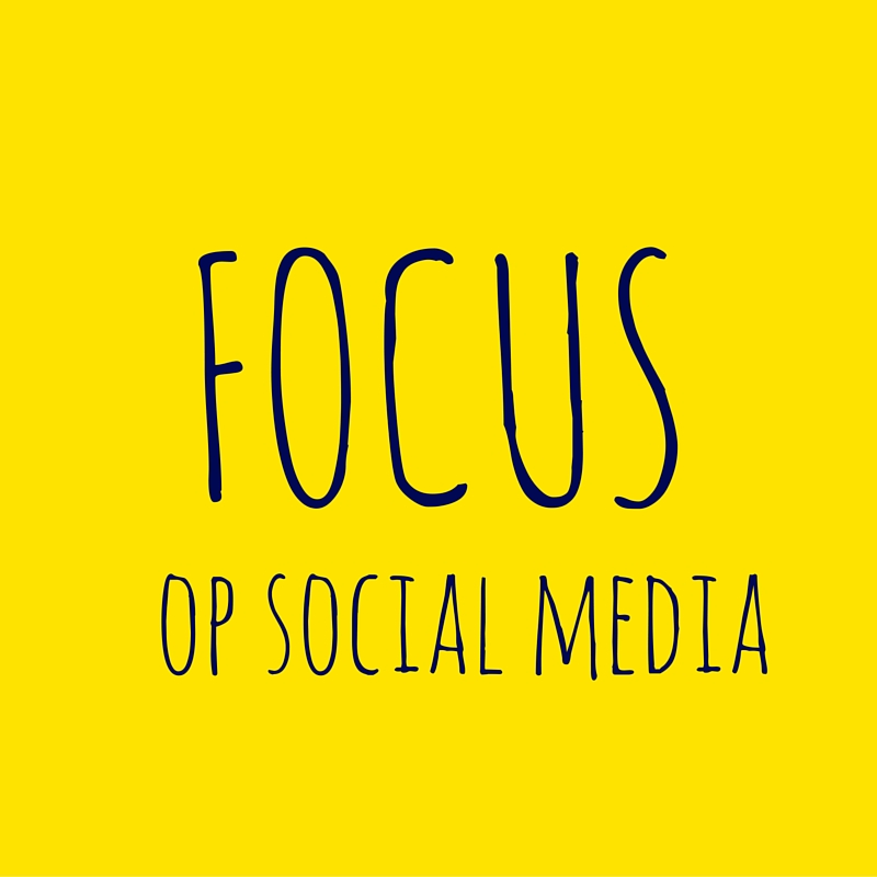 Workshop focus op social media