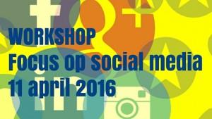 Interactieve training en actieve workshop focus op social media. Echt aan de slag met jouw social media